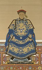 Oboi, regent during the early years of Kangxi's reign