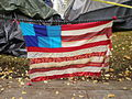 Occupy Portland November 9 flag.jpg