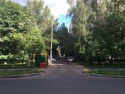 3-й Очаковский переулок — Википедия