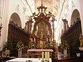 Ochsenhausen Kloster Ochsenhausen St. Georg Innen Volksaltar 2.jpg