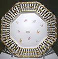 Octagonal dessert plate or sub-plate, Porzellanmanufaktur Furstenberg, c. 1810 AD from model c. 1790 AD, porcelain - Braunschweigisches Landesmuseum - DSC04635.JPG