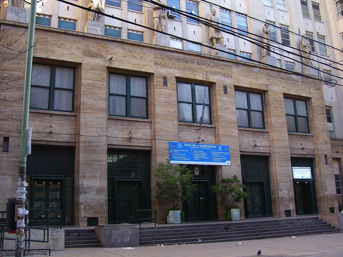 Facultad de odontolog a universidad de buenos aires for Hoteles en marcelo t de alvear buenos aires