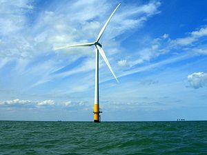Vestas V90-3MW - Vestas V90-3MW at Kentish Flats Offshore Wind Farm