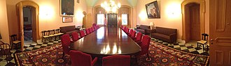 Ohio Statehouse - The Cabinet Room of the Ohio Statehouse