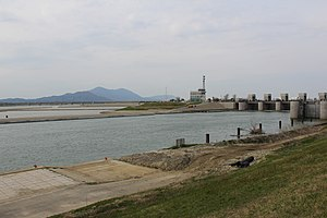 Ohkouzu Diversion Channel new Main Weir.JPG