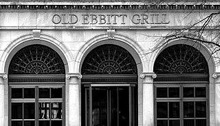 Old Ebbitt Grill Historic restaurant and bar in Washington, D.C.