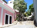 Old San Juan stepped alley, Puerto Rico.jpg