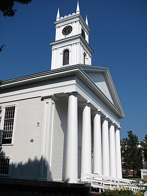 Martha's Vineyard - Old Whaling Church, Edgartown Village Historic District