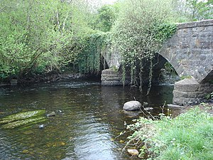 River Eske - County Donegal Railway bridge over the Eske.