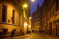 Old city center bricked narrow streets. Riga, Latvia, Northern Europe. September 27, 2014.jpg