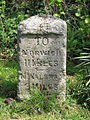 Old milestone - geograph.org.uk - 786026.jpg