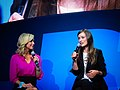 Olivia Wilde and Lara Spencer at CES 2011 3.jpg