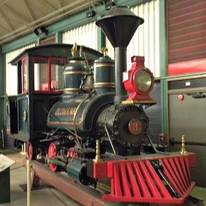 Olomana (locomotive) - Olomana at the Railroad Museum of Pennsylvania in 2010
