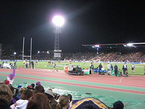 Olympic Park Stadium - Melbourne Storm playing South Sydney Rabbitohs at Olympic Park