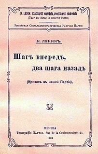 book by Vladimir Lenin