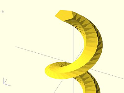 OpenSCAD User Manual/2D to 3D Extrusion - Wikibooks, open books for