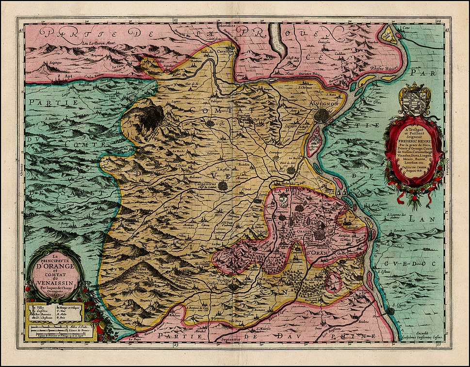Orange Principality Map