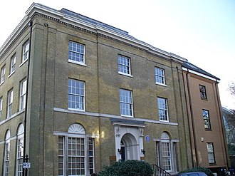 Ordnance Survey buildings - The Director General's House in 2007