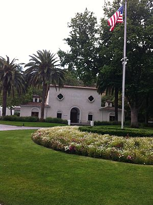 Cresta Blanca Winery - One of the original buildings of the Cresta Blanca winery that is today owned by Wente Vineyards.