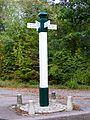Orry-la-Ville et Coye-la-Forêt (60), poteau de la Fosse à Rohan au sud des étangs de Comelles.jpg