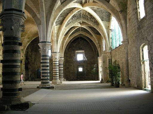Ortigia, castello maniace, interno, sala 14