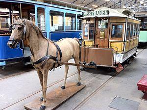 Oslo Tramway Museum - Image: Oslo Horse Tram