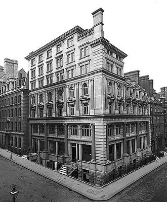 The Engineer (UK magazine) - Oswaldestre House, 33-35 Norfolk Street, London, once the home of The Engineer.