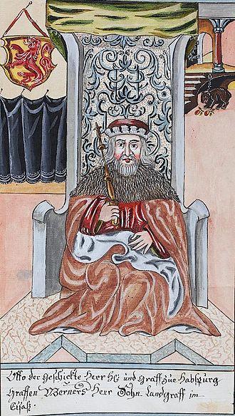 Otto II, Count of Habsburg - Image: Otto, count of Habsburg