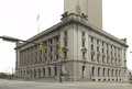 Overview, southeast, Howard M. Metzenbaum U.S. Courthouse, Cleveland, Ohio LCCN2010719496.tif
