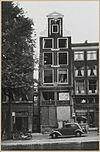 overzicht voorgevel grachtenhuis tijdens restauratie - amsterdam - 20319440 - rce