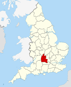 Oxfordshire UK locator map 2010.svg