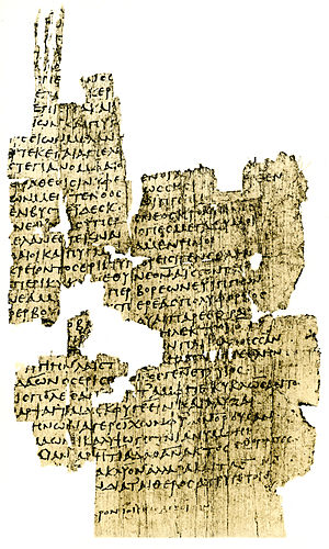 Catalogue of Women - Part of the Gês Períodos (Cat. fr. 150 = P.Oxy. XI 1358 fr. 2 col. i, second century CE, Oxyrhynchus)