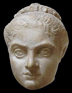 Fausta Roman Empress, daughter of the Roman Emperor Maximianus