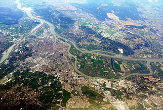 Avignon - Aerial view of Avignon