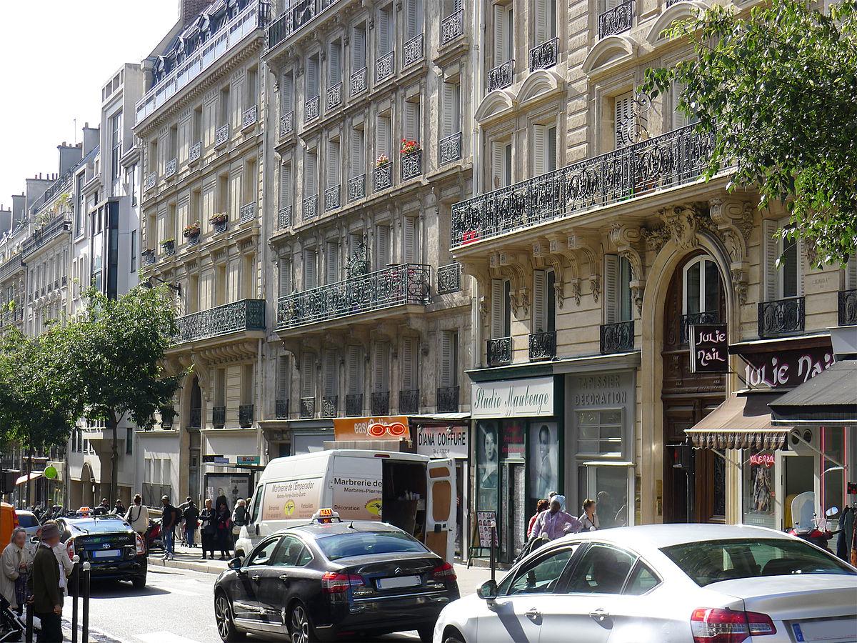 Tapissier Paris 20 rue de maubeuge - wikidata