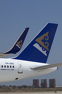 P4-GAS - B752 - Air Astana