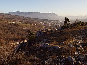 Castra ad Fluvium Frigidum - The Vipava Valley with Ajdovščina