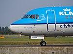 PH-KZF KLM Cityhopper Fokker F70 - cn 11577 taxiing, 25august2013 pic-3.JPG