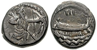 Abdashtart I - Achaemenid coinage of Abdashtart I, circa 365-352 BC.