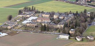 Münsingen - Münsingen psychiatric clinic today.