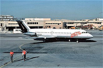 Pacific Express - BAC One-Eleven in 1982