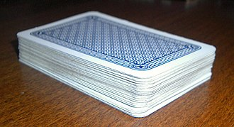 Beggar-my-neighbour - Image: Pack of playing cards board