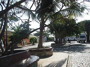 Palmeira, Cape Verde - Palmeira's town square