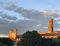 Pamiers, lever de soleil sur les 3 clochers.jpg