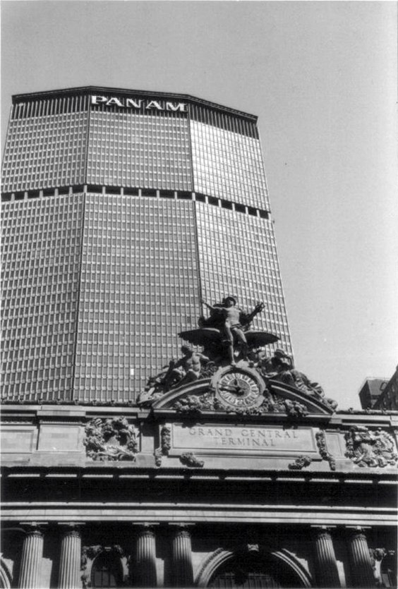 Pan Am Building, NYC, 1980s