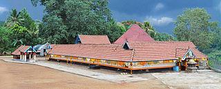 Thottakkonam Village in Kerala, India