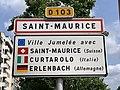 Panneau entrée St Maurice Quai République St Maurice Val Marne 1.jpg