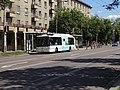 Pardubice, Palackého třída, zastávka Autobusové nádraží, autobus.jpg