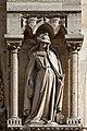 Paris - Cathédrale Notre-Dame - Façade ouest - Statue - PA00086250 - 005.jpg