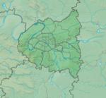 Lokalisierung von Frankreich in Frankreich Paris Petite Couronne